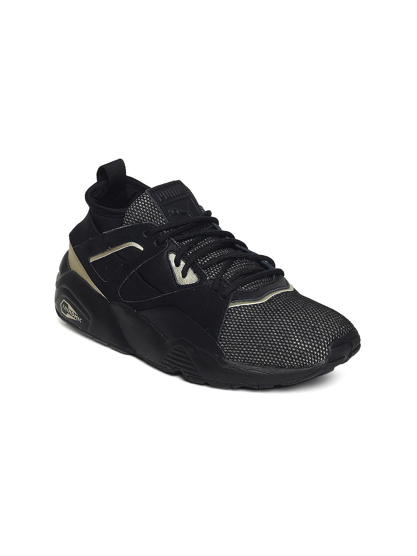bea86b0d373 Buy Puma Women Black TSUGI Shinsei EvoKnit Slip On Sneakers - Casual ...