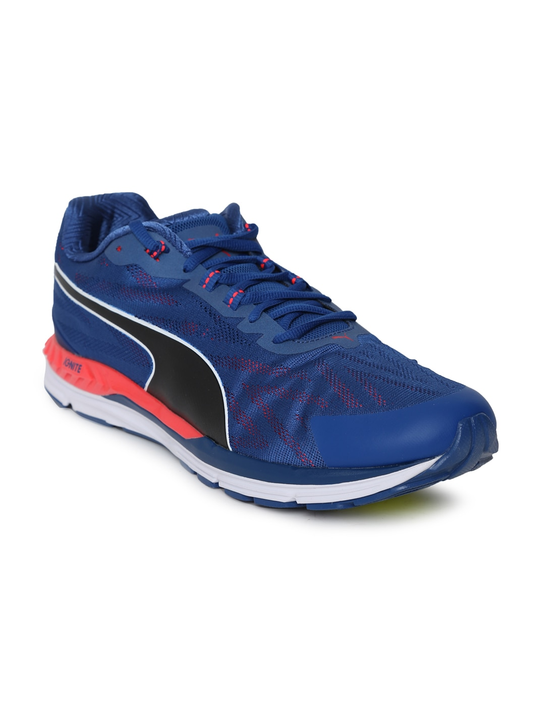 97b082ca2e61 Buy Puma Men Blue Speed 100 R IGNITE Running Shoes - Sports Shoes ...