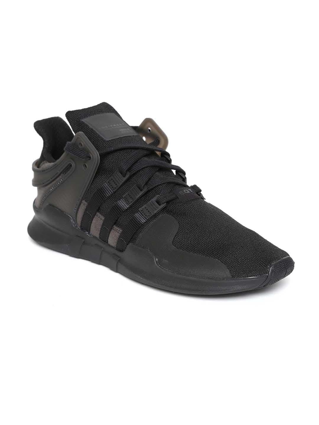 38d470c8bdeda8 Buy ADIDAS Originals Men Black EQT Support Advance Woven Design ...