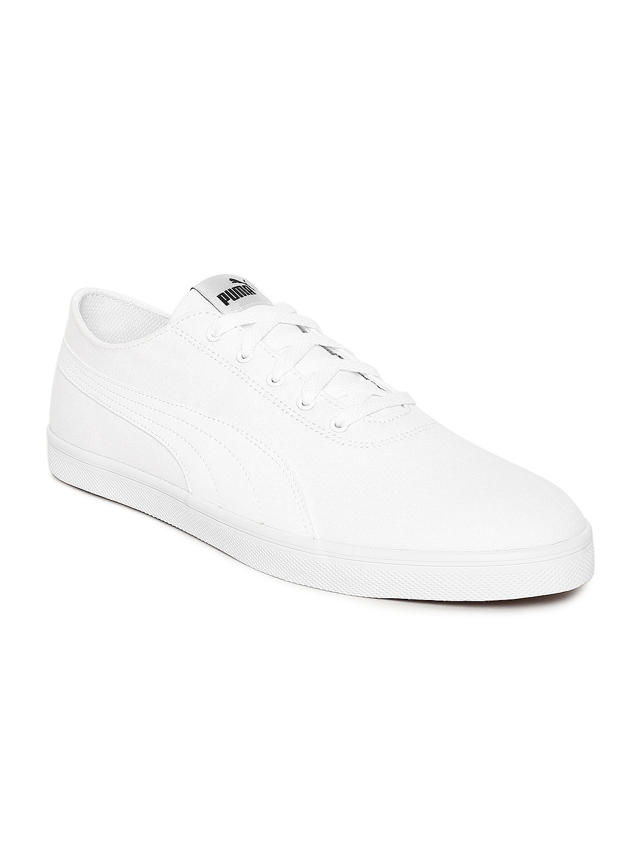 ea599ac0cddf2c Buy Puma Men White Court Breaker Bold Leather Sneakers - Casual ...