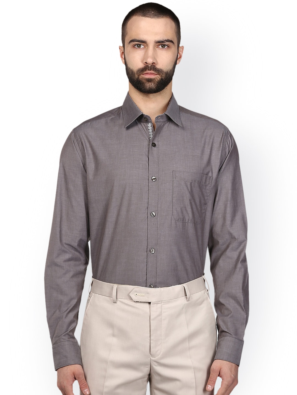 Raymond Grey Formal Shirt for men price - Best buy price ...