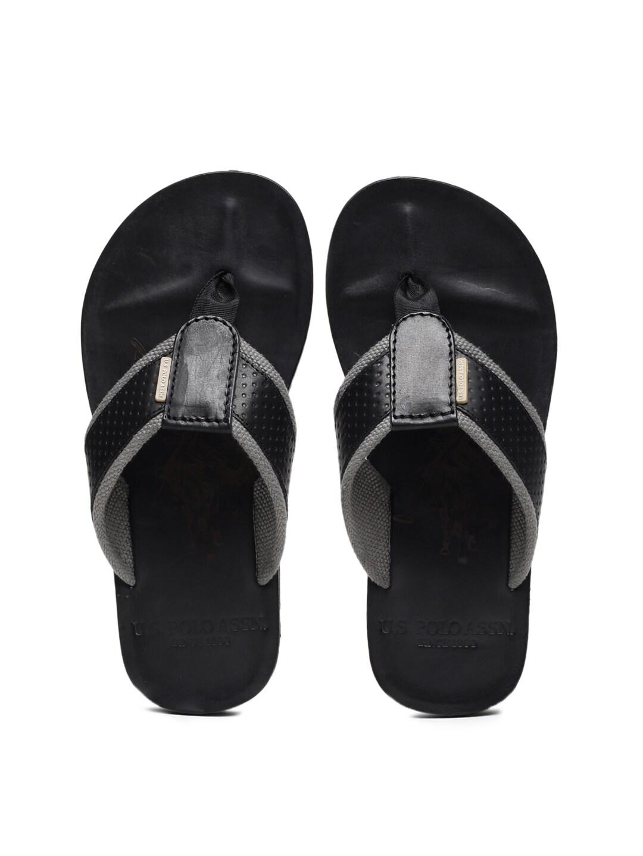 fd1890d325cc U S Polo Assn Gavin Black Sandals for Men online in India at Best ...