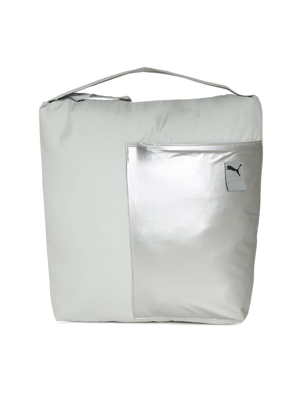 54261e4721 Buy Puma Beige Solid Ferrari LS Shopper Shoulder Bag - Handbags for ...