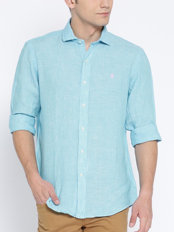 6a79c6dfa Buy Polo Ralph Lauren Slim Fit Striped Poplin Shirt - Shirts for Men ...