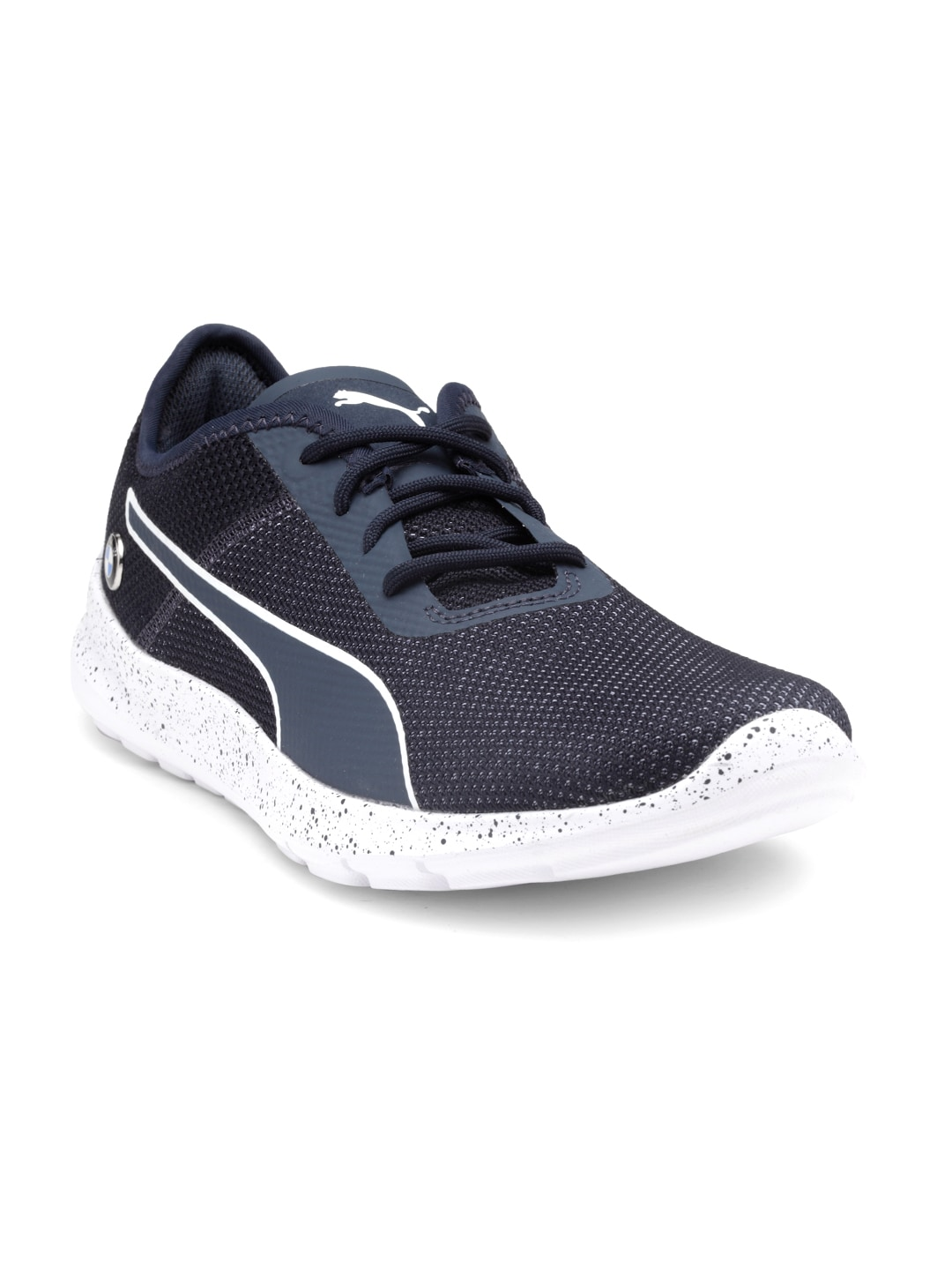 f8926924076299 Buy PUMA Men Blue Mid Top BMW MS Whiplash Sneakers - Casual Shoes ...