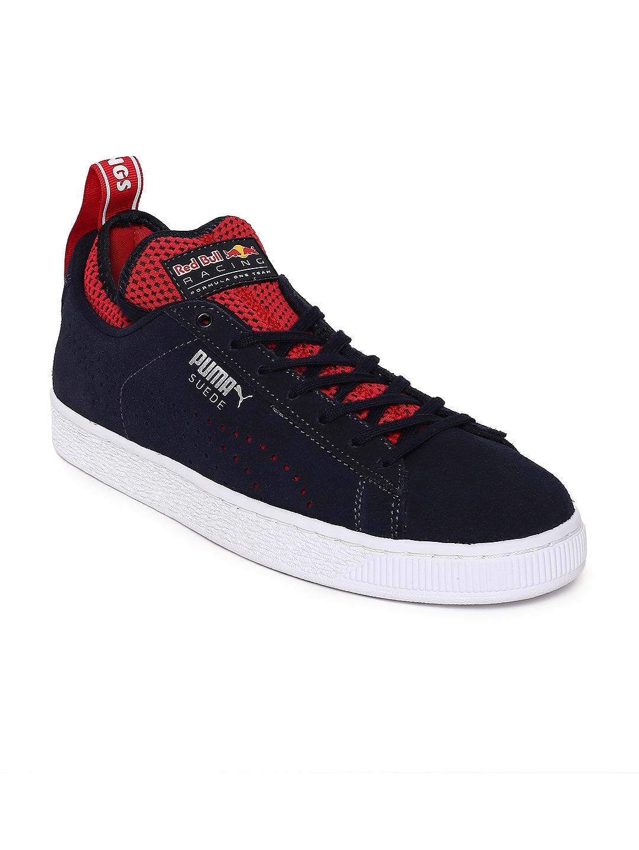 dc46a879173b5f Buy Puma Men Pink   Black Basket Classic Tiger Mesh Sneakers ...
