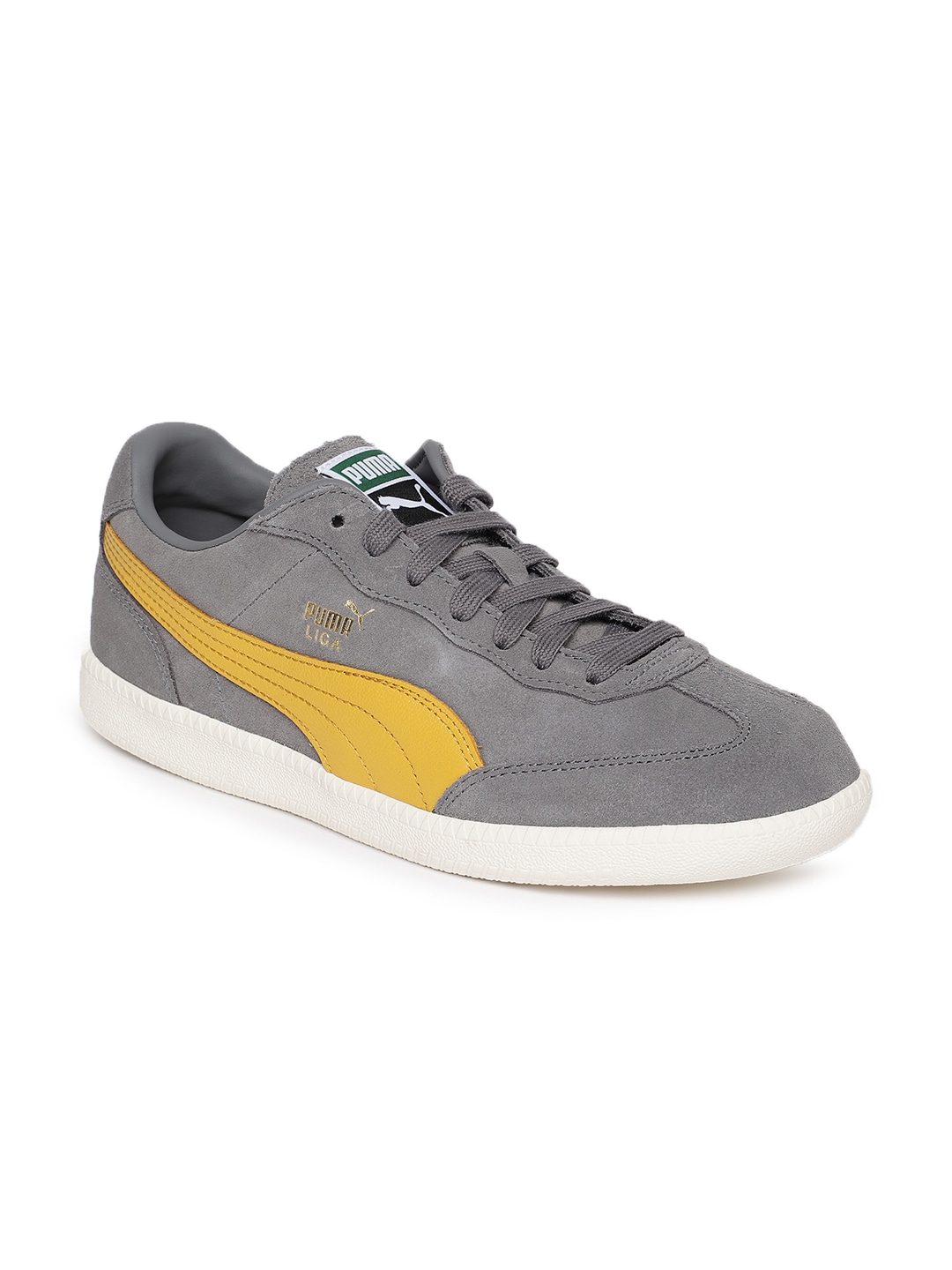 21a99f25828 Buy Puma Men Olive Green Astro Cup Suede Sneakers - Casual Shoes for ...
