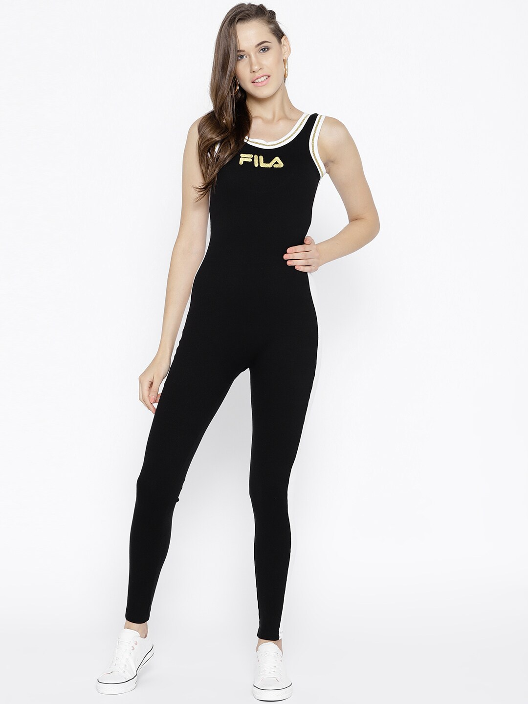 b58f898407d3 Buy Nike Black AS W NK INTL Jumpsuit - Jumpsuit for Women 1754550 ...