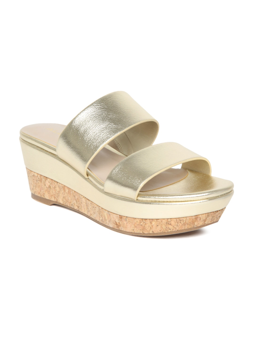 ALDO Women Gold-Toned Solid Sandals