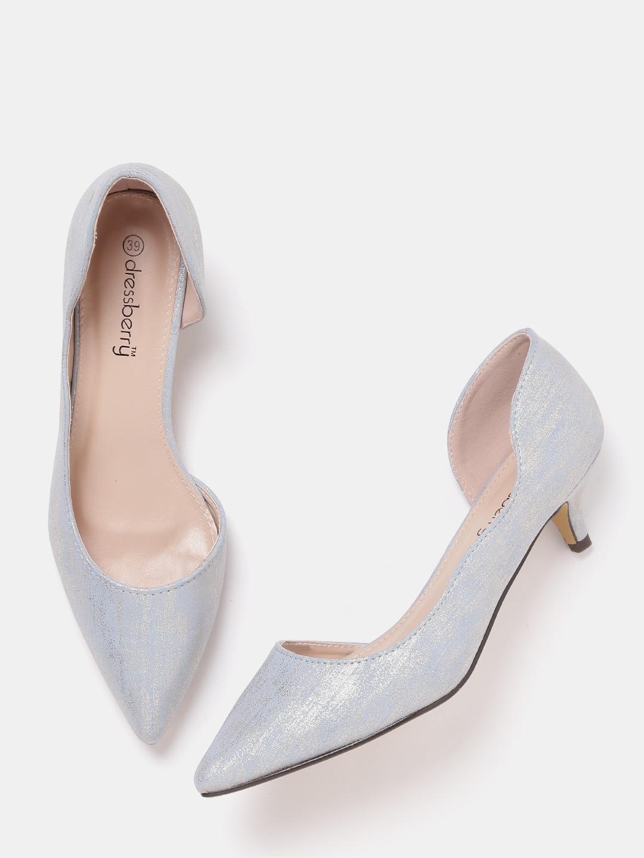 3a1ab28e81b Buy DressBerry Women Tan Brown D orsay Kitten Heels - Heels for Women  2182651