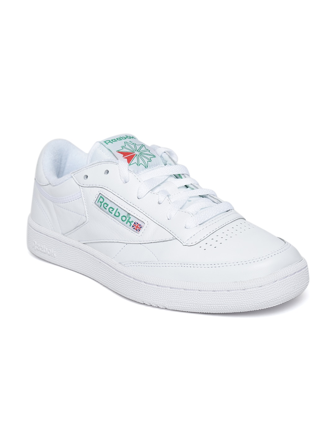 fbcd3f29159 Buy Reebok Classic Men White Royal Complete CLN Sneakers - Casual ...