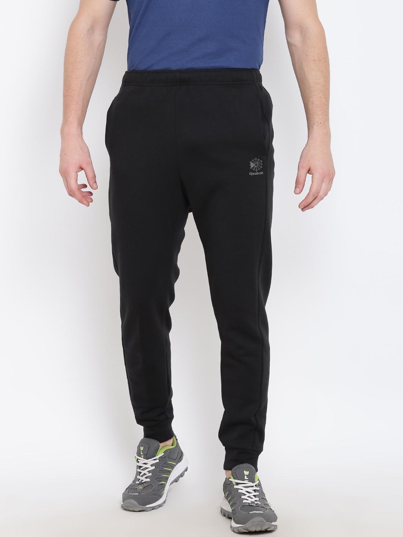 1cd9fe5e10 Buy New Balance Black Joggers - Track Pants for Men 1813281 | Myntra