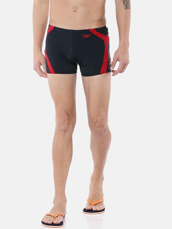 985895638b1 Buy Speedo Men Navy Blue Printed Alexandra Aquashort NEW SURF Swim ...