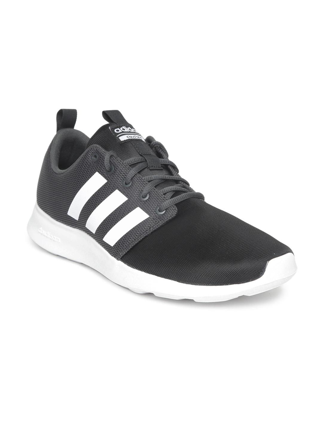 b5b1a7e789f Adidas Cf Swift Racer Black Running Shoes for Men online in India at ...
