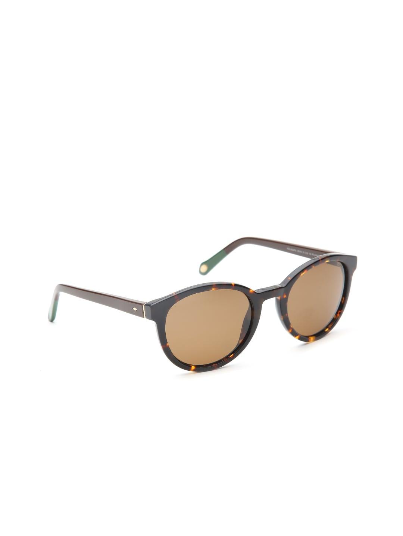 947a554c96 Buy Fossil Women Round Sunglasses FOS 2053 S 0BB 49S8 - Sunglasses ...
