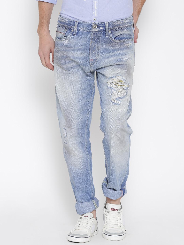 acb32d96d4cab4 Jack and jones 1660226018 Jack Jones Men Blue Erik Anti Fit Jeans- Price in  India