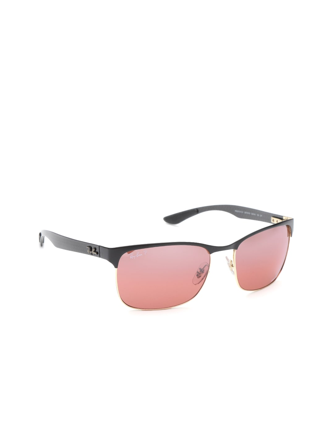 c29420d94f2 Buy Ray Ban Men Mirrored Clubmaster Sunglasses 0RB3016 114517 ...