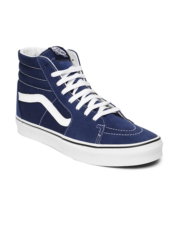 2cc4f8c17b Buy Vans Unisex Navy Half Cab Suede Professional Skateboard Shoes ...