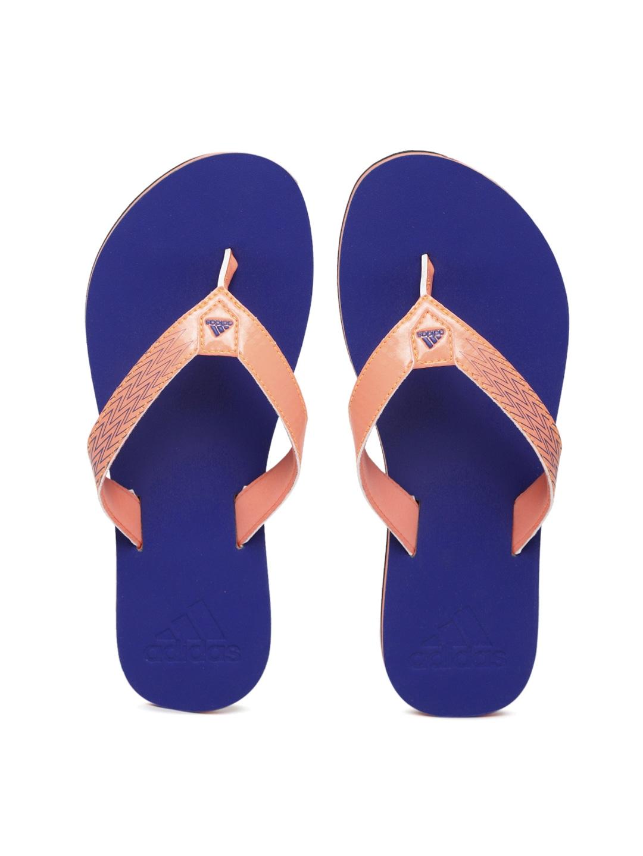 f803a0c1c5b600 Adidas Ozor Ws Orange Flip Flops for women - Get stylish shoes for ...