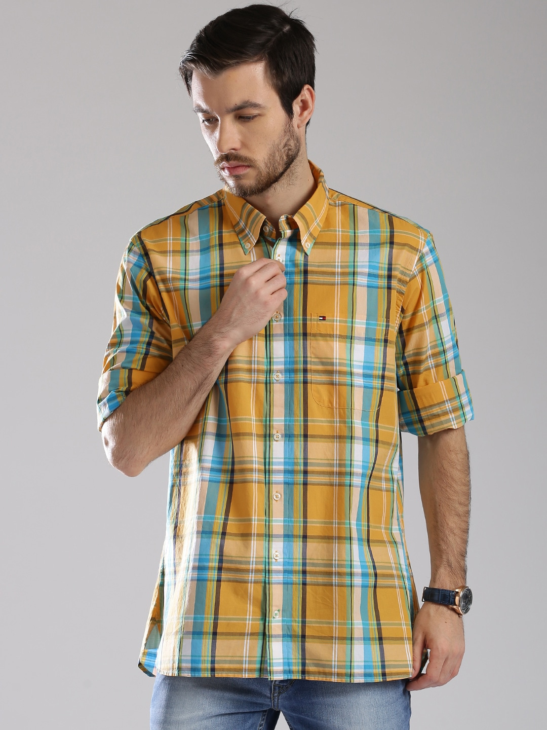 c09e4ff5 Tommy Hilfiger Casual Shirts Online India – EDGE Engineering and ...