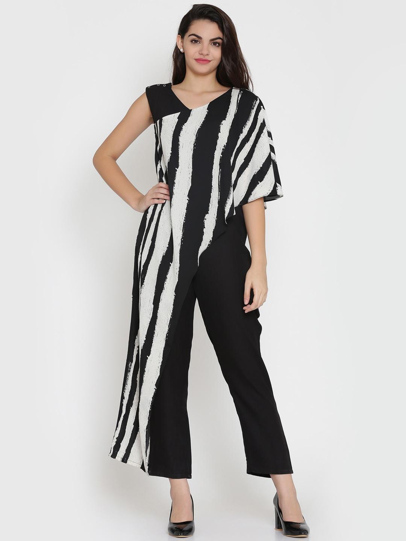 cf50a6921d4 Buy Eavan Women Maroon   Off White Printed Basic Jumpsuit - Jumpsuit ...