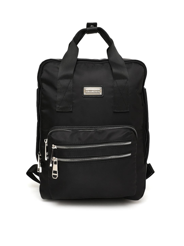 e22f6957e68f Buy Steve Madden Women Gold Toned Solid Backpack - Backpacks for ...