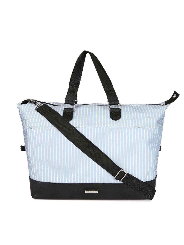 9f37495a48 Buy Steve Madden Black   White Striped Oversized Shoulder Bag ...