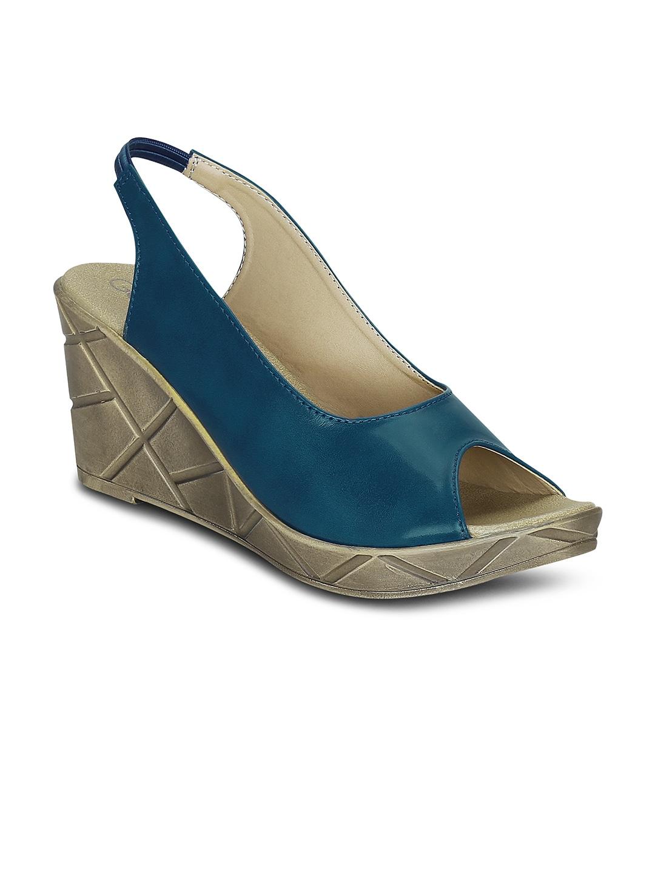 35b2bd27b16 Buy FIORELLA Women Blue Stilettos - Heels for Women 961361