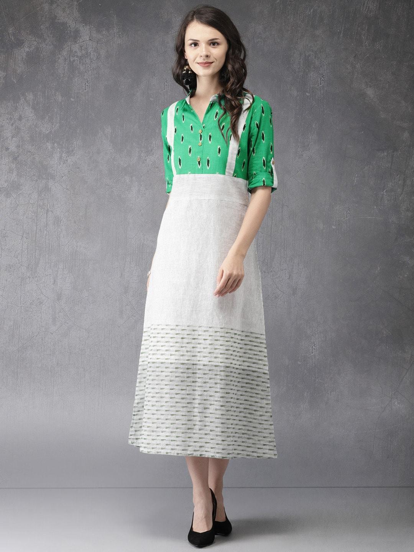 buy anouk women red \u0026 white checked a line cold shoulder dress6610327 Pokemon T Shirts Mens #3