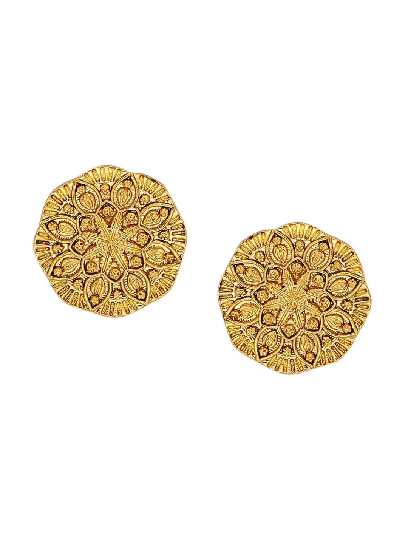 d576a2040 Buy Sukkhi Gold Plated & Kundan Oversized Stud Earrings - Earrings ...