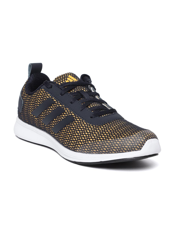 cd7a8630c1ab5a Buy ADIDAS Men Orange   Black Raddis 1.0 Running Shoes - Sports ...