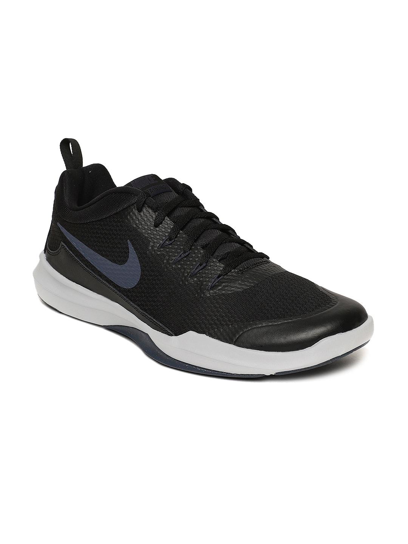 4ba01b76596cb Buy Nike Men Back   Grey Revolution 3 Running Shoes - Sports Shoes ...