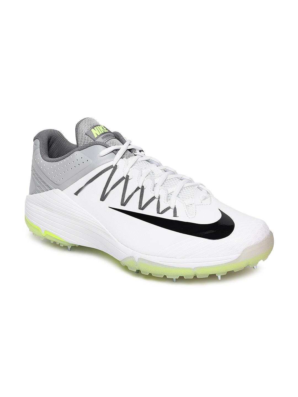 premium selection b271e 7d128 Nike Men White DOMAIN 2 Cricket Shoes