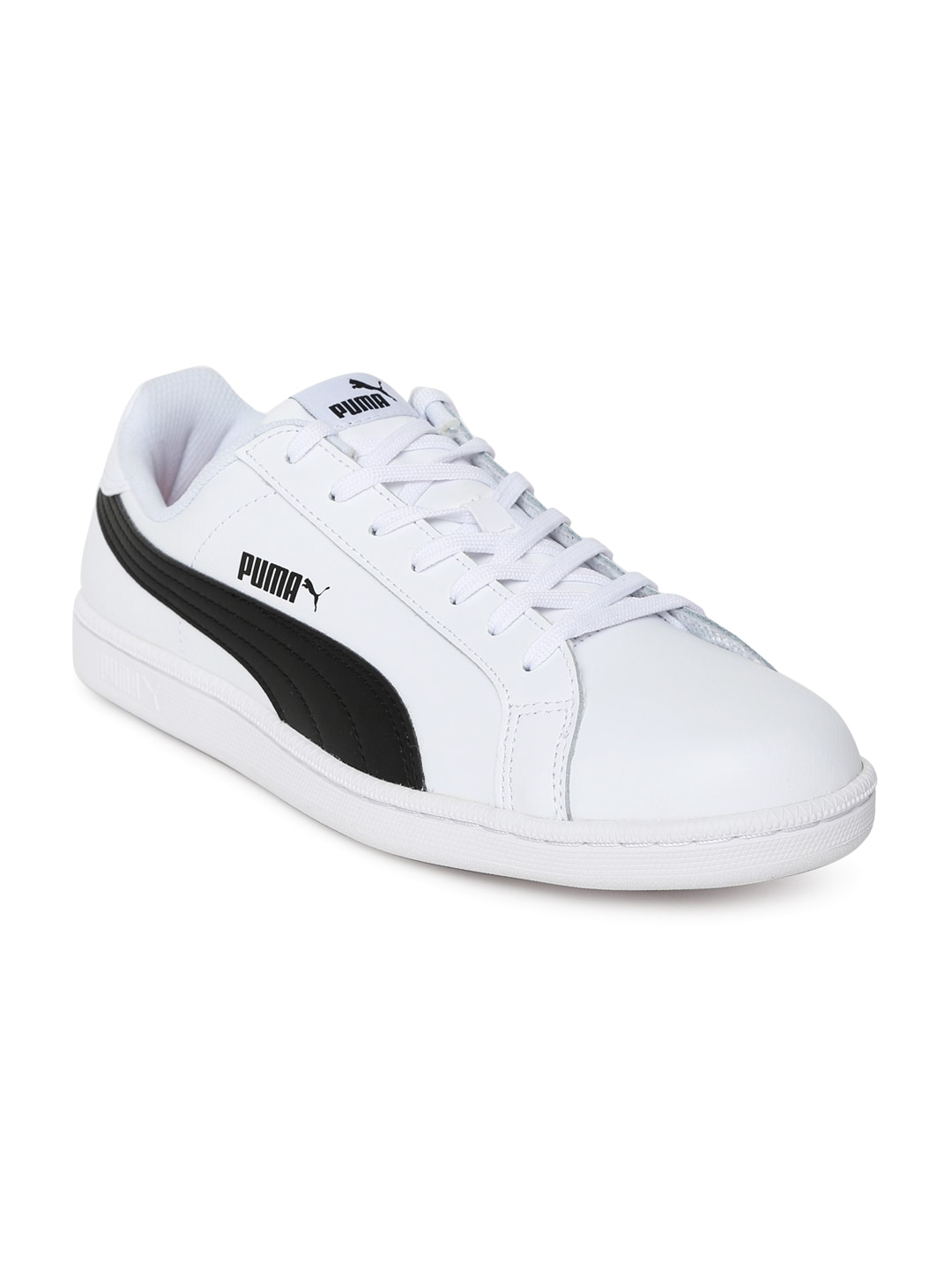18aa8625eae5f7 Puma Smash White Sneakers for Men online in India at Best price on ...