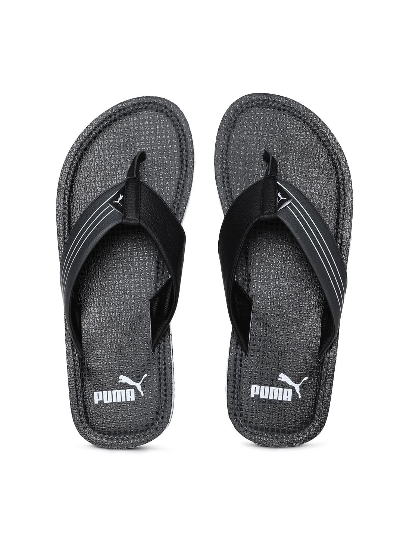 33dbb26fd984 Buy ADIDAS Men Black Coset Printed Thong Flip Flops - Flip Flops for Men  6632905