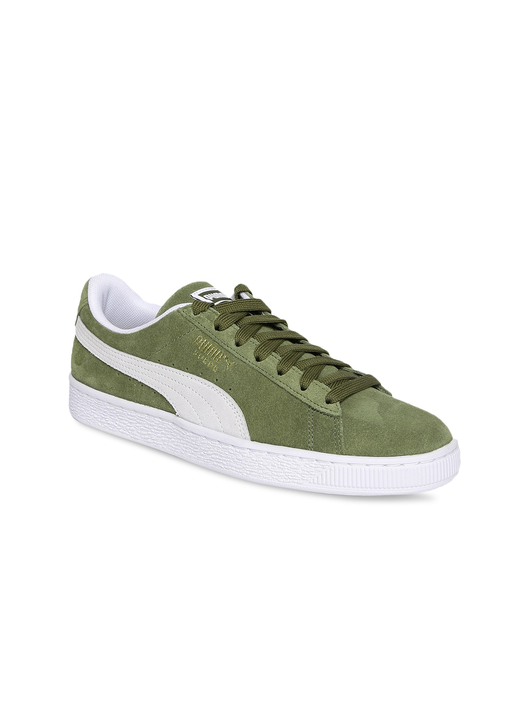 Puma R698 Allover Suede Olive Sneakers for women - Get stylish shoes ... 11f663505