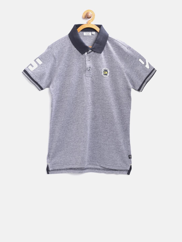 39dfebb9 Buy Slazenger Boys Green Solid Polo Collar T Shirt - Tshirts for ...