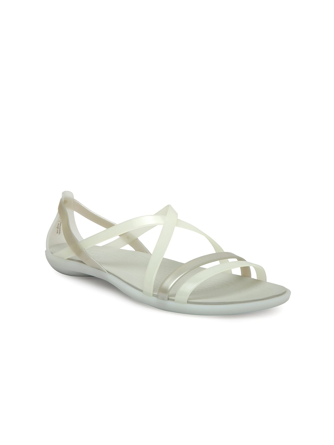 8031fa1eb94 Crocs Patricia Off White Sandals for women - Get stylish shoes for ...