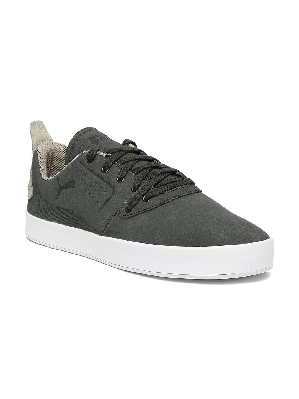 05e1970e0e9a Buy Puma Men Grey Breaker Mesh FOF Suede Sneakers - Casual Shoes for ...