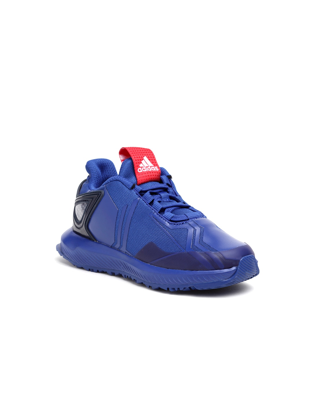 d407d09918aaf Adidas Rapidarun Spider Man Blue Running Shoes for girls in India ...