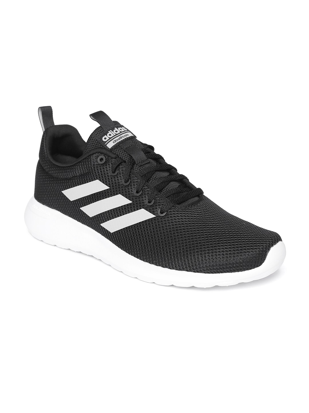 b858ced4c Buy Adidas Men Black Cloudfoam Swift Racer Running Shoes - Sports ...
