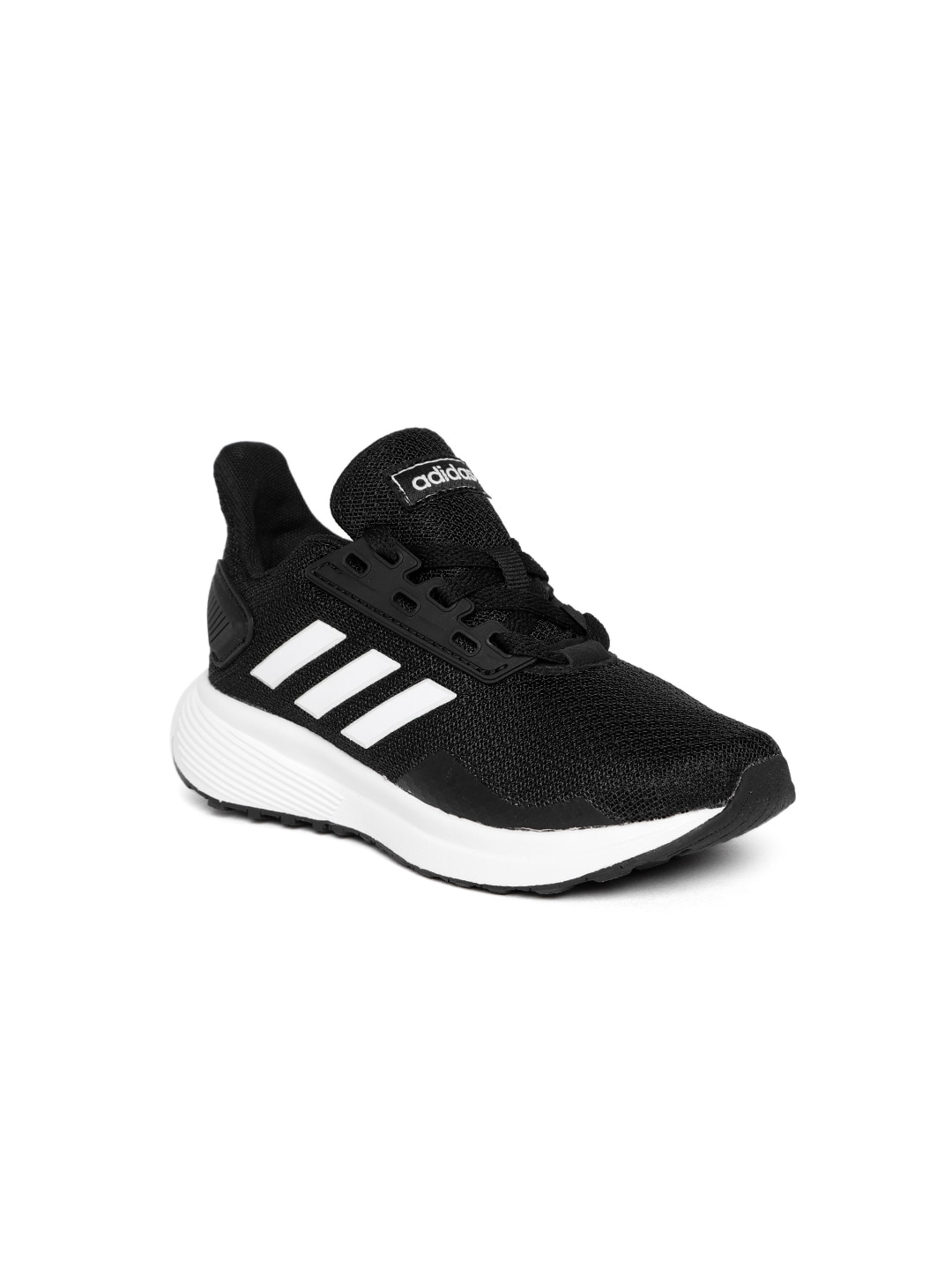 27f48f09173 Buy ADIDAS Kids Black Solid CF RACER TR K Running Shoes - Sports ...