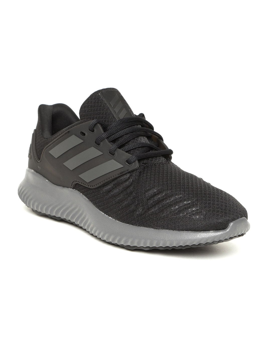 184fe8a0722b8 Buy ADIDAS Men Black Alphabounce RC.2 Running Shoes - Sports Shoes ...