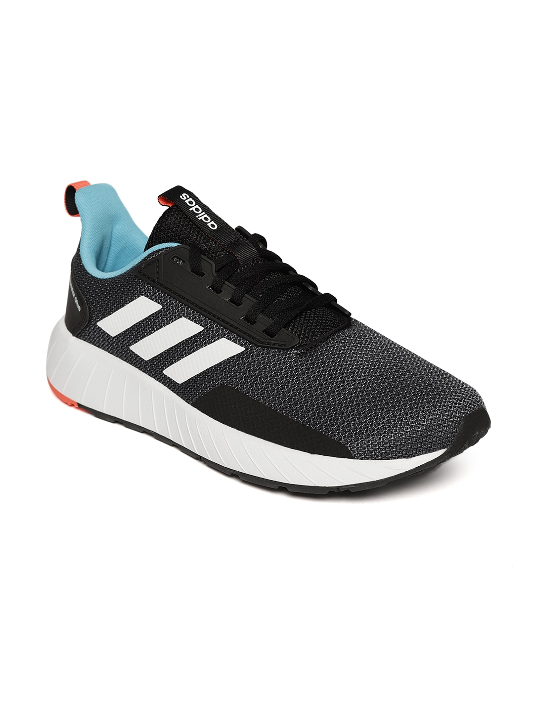6bf72e5c7fcae7 Buy Adidas Men Charcoal Grey QUESTAR Ride Running Shoes - Sports ...