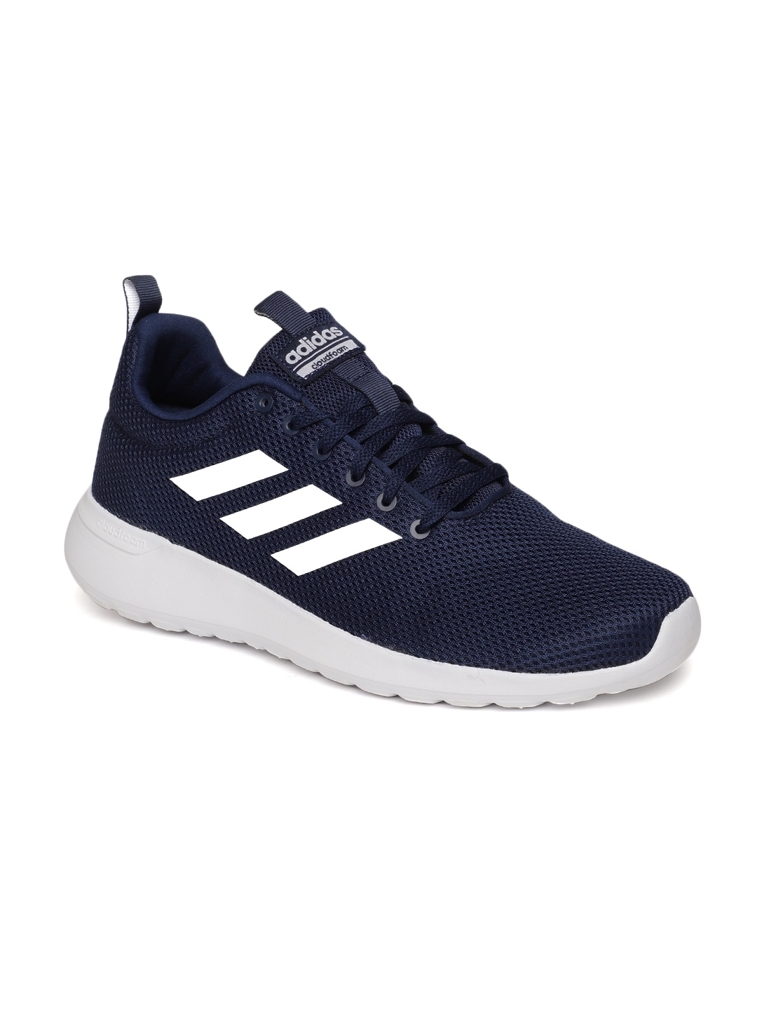 e75efa9767c3e Buy Adidas Men Black Cloudfoam Swift Racer Running Shoes - Sports ...