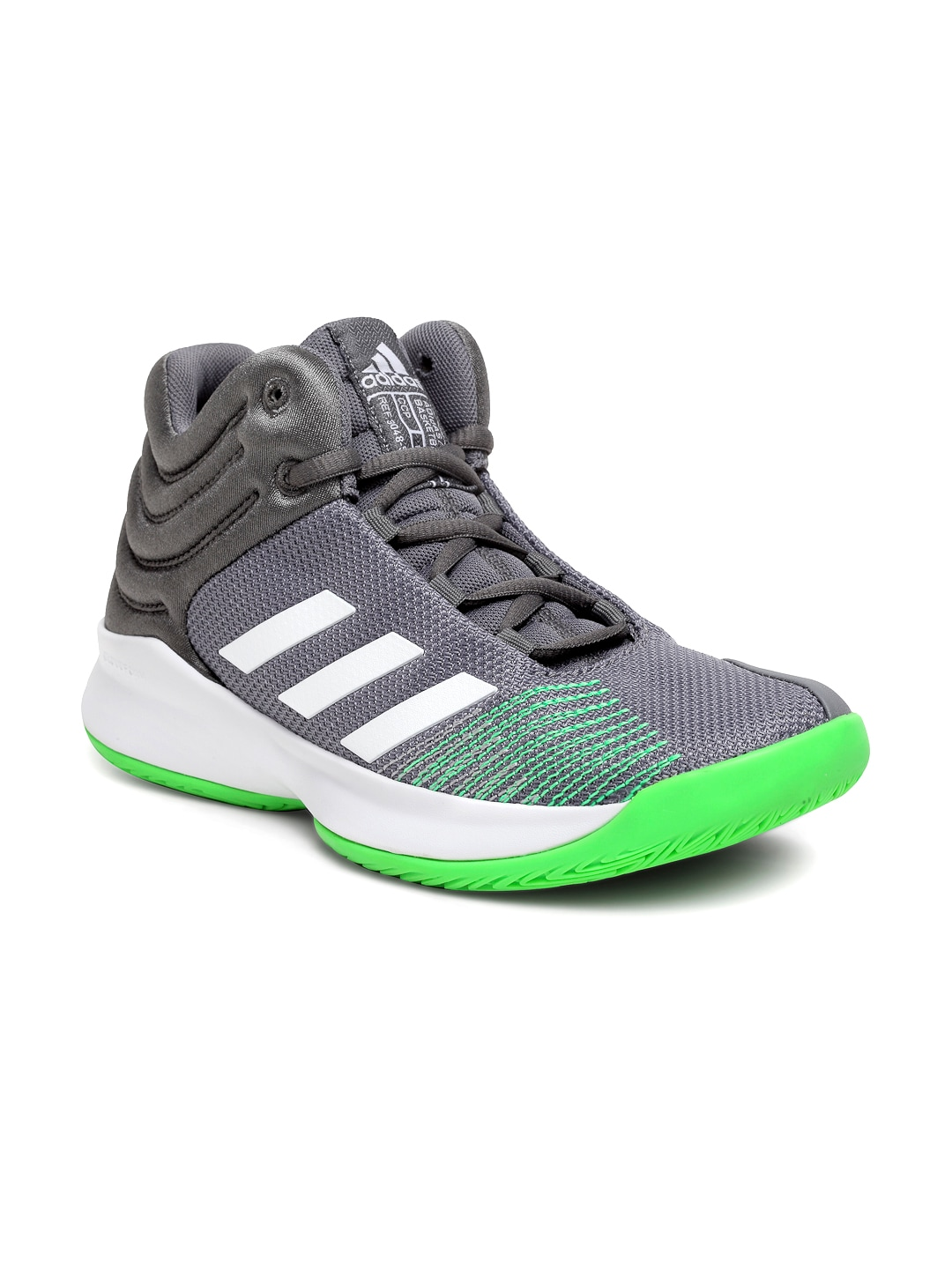 best sneakers c1f21 40ce3 Buy ADIDAS Kids Black  Purple Crazy Heat J Basketball Shoes