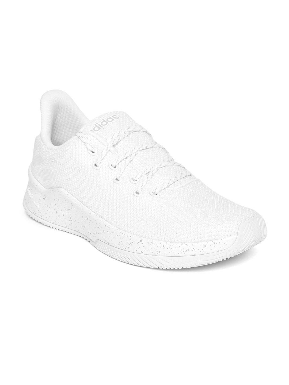 57f91f3c5b7e2 Buy ADIDAS Men White MANAZERO M Woven Running Shoes - Sports Shoes ...