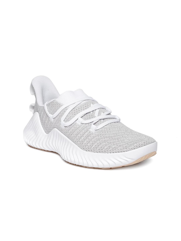 cheaper 95cd7 5ed2e Buy ADIDAS Women Black  Grey Alphabounce Beyond Running Shoe