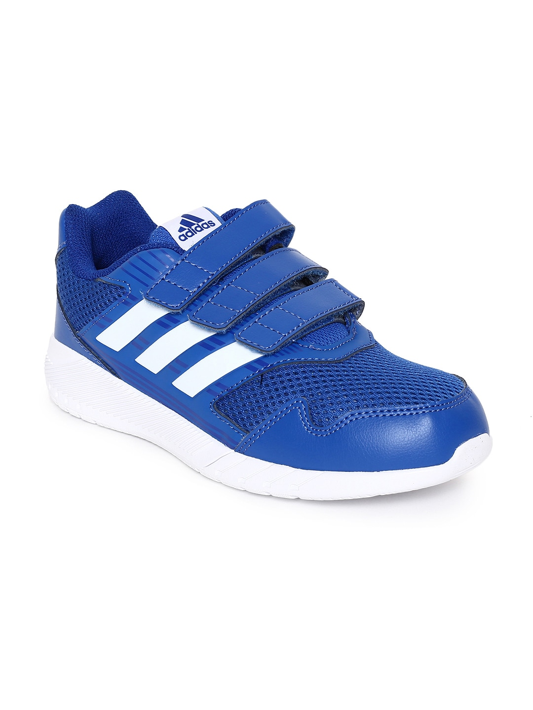 brand new 21a46 c693e ADIDAS Kids Blue ALTARUN CF Running Shoes