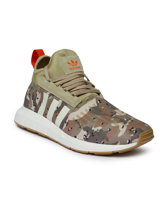 c86f5ee55 Buy Adidas Originals Men Black Swift Run Barrier Sneakers - Casual ...